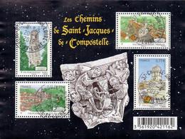 France Oblitération Cachet à Date BF N° 4641 - Les Chemins De Saint Jean De Compostelle - Afgestempeld