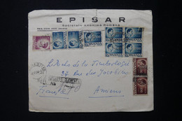 ROUMANIE - Enveloppe Commerciale En Recommandé De Bucarest Pour La France En 1946  - L 90055 - Briefe U. Dokumente