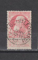 COB 74 Centraal Gestempeld Oblitération Centrale LIEGE (St-Léonard) - 1905 Thick Beard