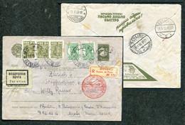 3724 Russia SOVIET Union AIRMAIL Moscow Cancel 1933 ADVERTISING Reg-cover Via Germany Berlin Zentralflughafen To Zurich - Briefe U. Dokumente