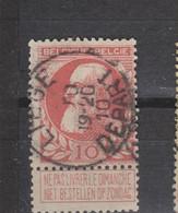 COB 74 Centraal Gestempeld Oblitération Centrale LIEGE Départ - 1905 Thick Beard