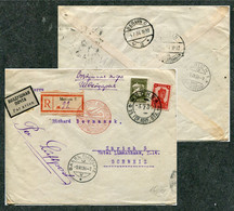 3726 Russia SOVIET Union AIRMAIL Moscow Cancel 1934 R-cover Via Germany Berlin Zentralflughafen To Basel Switerland Pmk - Briefe U. Dokumente