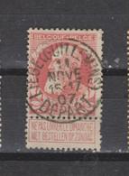 COB 74 Centraal Gestempeld Oblitération Centrale LIEGE (Guillemins) Départ - 1905 Thick Beard
