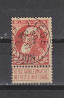 COB 74 Centraal Gestempeld Oblitération Centrale LIEGE Exposition - 1905 Thick Beard