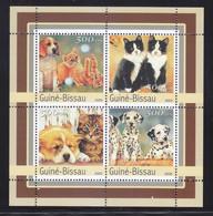Guinea-Bissau 2003 Dog Chien Cat MNH 1 Sheet - Guinea-Bissau