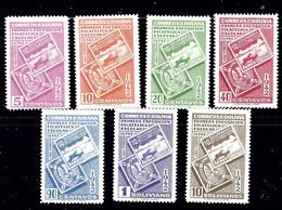 Bolivia 274-80 MNH 1942 Set - Bolivia