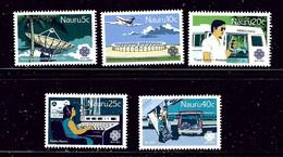 Nauru 268-72 MNH 1987 World Communications Year - Nauru