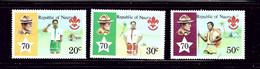 Nauru 188-90 MNH 1978 Boy Scouts - Nauru