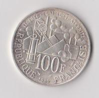 """FRANCE - 100 FRANCS -  """" EMILE ZOLA """"- 1985 - ARGENT - TTB - N. 100 Francs"""