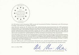 BUNDESREPUBLIK 1985/8, Europa-CEPT 4 Versch. Geschenkkartons Der Dt. Bundespost - Variétés