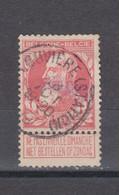 COB 74 Centraal Gestempeld Oblitération Centrale LA LOUVIERE (Station) - 1905 Thick Beard