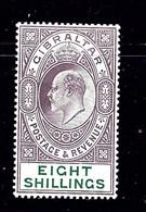 Gibraltar 63 MLH 1911 Issue  2019 SCV $250.00   (Bon) - Gibraltar