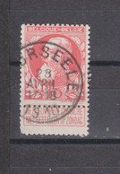 COB 74 Centraal Gestempeld Oblitération Centrale MOORSEELE - 1905 Thick Beard