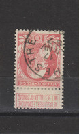 COB 74 Centraal Gestempeld Oblitération Centrale LA HESTRE - 1905 Thick Beard