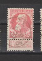 COB 74 Centraal Gestempeld Oblitération Centrale LEUZE - 1905 Thick Beard
