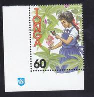 Tonga 1994 Girl Butterfly MNH 1V ** - Tonga (1970-...)