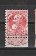COB 74 Centraal Gestempeld Oblitération Centrale LEOPOLDSBURG - BOURGLEOPOLD - 1905 Thick Beard