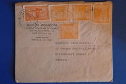 L7 BOLIVIE BELLE LETTRE 1939 CONSULAT  POUR BILLANCOURT +AFFRANCH INTERESSANT - Bolivia