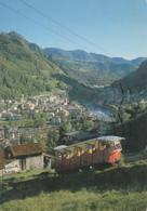 S.PELLEGRINO TERME - BERGAMO - VALLE BREMBANA - LA FUNICOLARE PER LA VETTA - 1983 - Bergamo