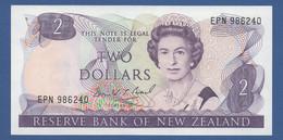 NEW ZEALAND  - P.170c – 2 Dollars ND (1985-89) - UNC - New Zealand