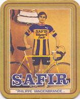 #D244-016 Viltje Safir (blauw) - Beer Mats