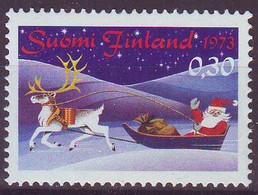 Finlande / Finland 1973 Christmas Noël Y&T N° 703 MNH** - Neufs