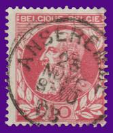 "COB N° 74 - Belle Oblitération ""ANSEREMME"" - 1905 Thick Beard"