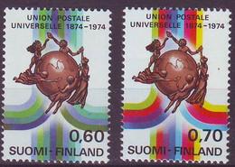 Finlande / Finland 1974 UPU Y&T N° 720 721 MNH** - Neufs