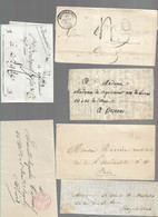 LOT   20 LETTRES    SCANS RECTO VERSO     DEPART  1 EURO - 1801-1848: Précurseurs XIX