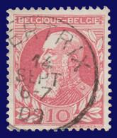"COB N° 74 - Belle Oblitération ""BERTRIX"" - 1905 Thick Beard"