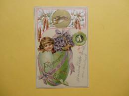 Ostern / Prägekarte    (9160) - Easter