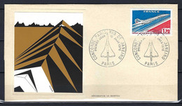 ⭐ France - FDC Paris / Rio De Janeiro - Concorde - 1976 ⭐ - Premiers Vols