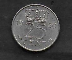 25 Cents 1950 - 1948-1980 : Juliana