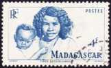 Madagascar Obl. N° 312 - Types Bersimisarake De La Série Courante De 1946 - Oblitérés
