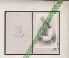 Jules Vancaeneghem-Devriese, Huise 1870, 1952 - Todesanzeige