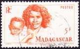 Madagascar Obl. N° 313 - Types Bersimisarake De La Série Courante De 1946 - Oblitérés