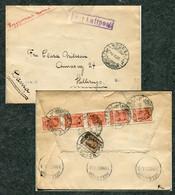 "3794 Russia SOVIET Union EXPRESS MAIL Leningrad Cancel 1934 Cover To Vladivostok ""Soyuzkinochronicle"" Documentary Film - Briefe U. Dokumente"