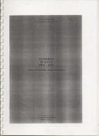 CATALOGUE DES NUMEROS BLANCS 1876-1895 / JEAN POTHION / 12 PAGES - Altri