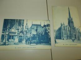 B779  4 Cartoline Lille Cm14x9 Non Viaggiate - Zonder Classificatie