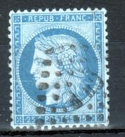 Y & T N°60 ( I), Griffe Dans Le S De POSTES Et Au Niveau De La Bouche, Filet Interrompu Au Dessus De La Rosette N.E. - 1870 Besetzung Von Paris