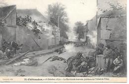 K/ 10        28    Chateaudun    18 Octobre 1870 - Chateaudun