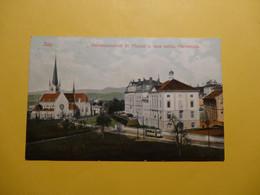 Zug  - Knabenpensionat St. Michael  U. Neue Kath. Pfarrkirche 1909 (9178) - ZG Zug