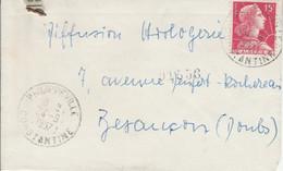 ALGERIE MIGNONNETTE DE PHILIPPEVILLE POUR LA FRANCE 1957 - Lettres & Documents