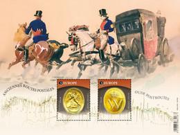 België 2020 - EUROPA CEPT Oude Postroutes 4931/32** / Old Postal Routes / Anciennes Routes Postales - Nuevos
