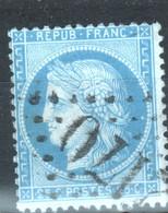 Y & T N°60 ( I), Point Blanc Derriere La Tete - 1870 Besetzung Von Paris