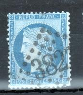Y & T N°60 ( I), Points Blancs Devant Le Menton - 1870 Besetzung Von Paris