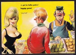 COMIC - Bamford - A QUI LES BELLES POIRES - GROS SEINS - JUICY FRUIT - BIG BREASTED - Grosse Poitrine - Humor