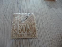 TP Colonies Françaises Guyane   Charnière N°24 - Neufs