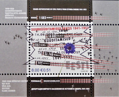 DEPORTATION D'ESTONIENS 2007- OBLITERE - YT BL 28 - MI BL 29 - BELLE OBLITERATION - Estonie