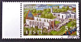 RUINES DU COUVENT DE PIRITA 2007 - OBLITERE - YT 546 - MI 588 -  BORD DE FEUILLEBELLE OBLITERATION - Estonie